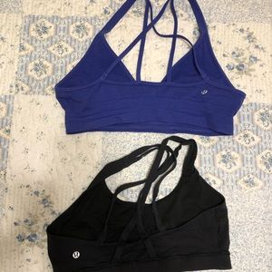 2 Lululemon sports bras